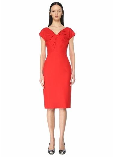 Alexander McQueen Elbise Kırmızı